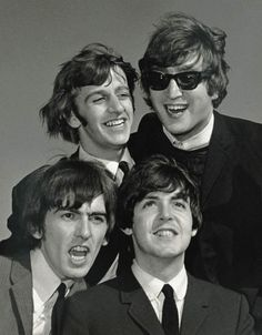 The Beatles.  Ringo, John, George and Paul.