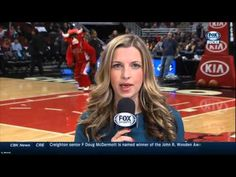 :} Benny the Bull photobombs Milwaukee Bucks sideline reporter. - YouTube