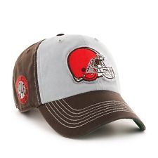 NWT CLEVELAND BROWNS 47 BRAND TWINS MCGRAW CLEAN UP HAT CAP OSFA FREE  SHIPPING! Browns 4a4f2747b