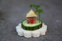 Tiny little food house