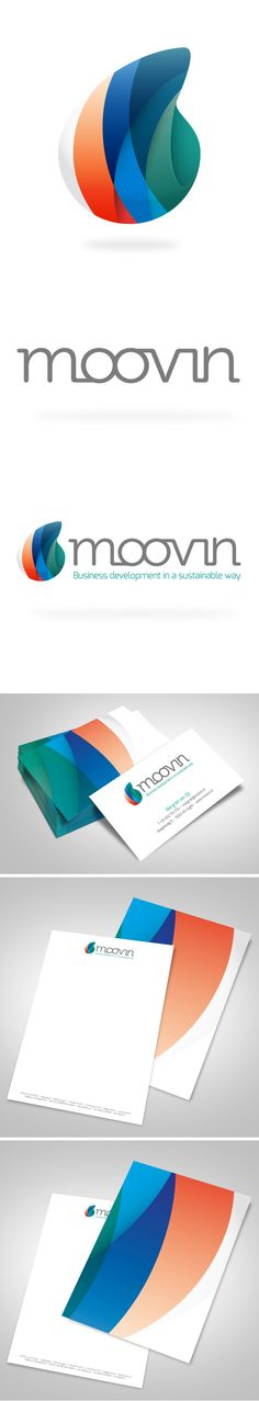 Moovin Logo & Corporate Identity by GiDesign , via Behance