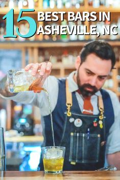 Award-Winning bartender and bar consultant Joe Nicol tells us exactly where to find the best cocktails in Asheville, NC Ashville North Carolina, Ashville Nc, Vacation Places, Dream Vacations, Chimney Rock State Park, Local Hiking Trails, Best Cocktail Bars, Prep Life