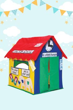 Start School early with the Bazoongi Learning Cottage. Your little one will love getting prepared for starting school with this educational play tent. They'll learn all about colours, telling the time, tying their shoes, and playing with all sorts of zippers and buttons. Locations: AUSTRALIA
