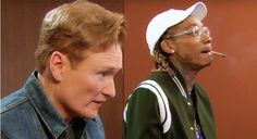 """Wiz Khalifa Joins Conan O'Brien to Get High and Play """"Gears Of War 4""""   Wiz and Conan have an intimate smoke sesh and play video games together in this hilarious """"Clueless Gamer"""" skit."""