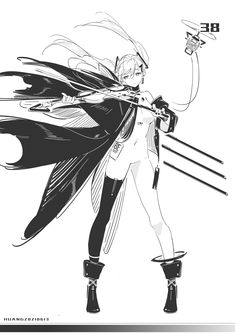 Character Concept, Character Art, Concept Art, Character Design, Anime Sketch, Monster Girl, Anime Characters, Fictional Characters, White Art