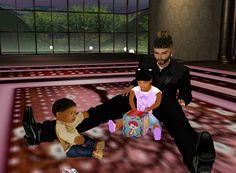 Yechezkel, KiAaliyah and Daddy