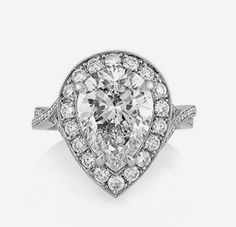 We offer wide variety of Diamond Anniversary Rings & Diamond Engagement Rings. Buy Diamond Engagement & Anniversary Rings to express your love. Pear Shaped Diamond Ring, Pear Diamond Engagement Ring, Pear Shaped Engagement Rings, Diamond Anniversary Rings, Perfect Engagement Ring, Most Expensive Engagement Ring, Commitment Rings, Oui Oui, Diamond Cuts