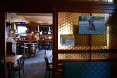 Wiener Beisln Liquor Cabinet, Restaurant, Storage, Furniture, Home Decor, Wine List, Drink Beer, Brick Patios, Viajes