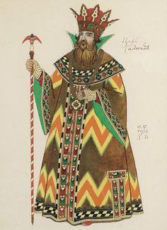 Билибин И. Я. Царь Салтан. 1928