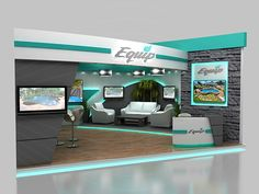 Equip Booth on Behance