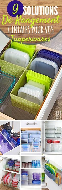 Discover recipes, home ideas, style inspiration and other ideas to try. Diy Organisation, Camping Organization, Kitchen Organization, Organising, Tupperware Organizing, Housekeeping Tips, Paint Colors For Living Room, Home Hacks, Getting Organized