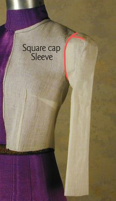 How To Draft Square Cap Sleeves