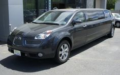 Eight-Passenger Subaru Tribeca Limousine Combines Practicality With Wide-Eyed Excitement Subaru Tribeca, Eight Passengers, Auto News, Car Humor, Limo, Cool Cars, Automobile, Funny Cars, Fitness