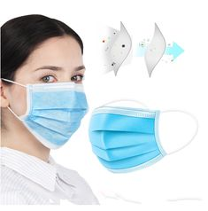 formaldehyde Bacteria Proof Face Mouth Masks Non Woven Disposable Dust Mask maseczka ochronna 마스크 マスク Flu Mask, Safety Mask, Medical Dental, Protective Mask, Mouth Mask, Influenza, Cute Pattern, Ear Loop, Face Masks