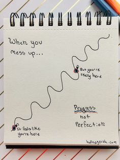 Progress, not perfection. Bullet Journal Quotes, My Journal, My Emotions, Feelings, Psalm 84, Hills And Valleys, Blessed Are Those, Battle Cry, Inspirational Articles