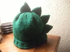 Dino Spikes Knitting Pattern | theninjaherself