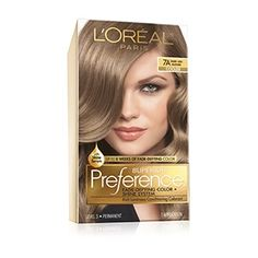 Discover Superior Preference Fade-Defying hair color & shine system by L'Oréal. Over 50 luminous hair color shades with care supreme conditioning treatment. Red Brown Hair Color, Light Brown Hair, At Home Hair Color, Cool Hair Color, Hair Colour, Dark Ash Blonde Hair, Going Blonde, Platinum Blonde, Wavy Hair Men