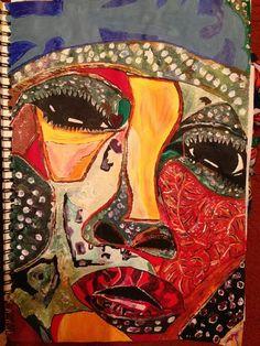 Patchwork by Jacqueline Ramnarine | Artfinder £50 #art #painting