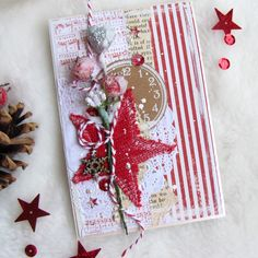 might be expensive to mail, but sure do love all the layers Chrismas Cards, Create Christmas Cards, Christmas Mix, Christmas Card Crafts, Handmade Christmas, Chocolate Card, Christmas Shadow Boxes, Xmas Theme, Star Cards