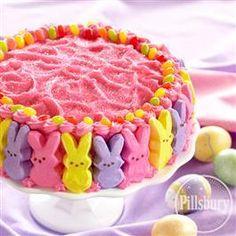 Hippity Hop Easter Bunny Cake from Pillsbury® Baking