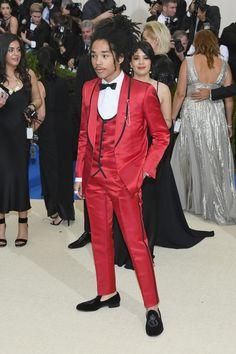 Luka Sabbat in Dolce & Gabbana. Photo: Dia Dipasupil/Getty Images