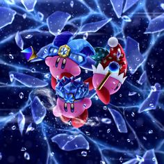Mirror and Ice Kirby