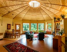 10 Modern Yurts You Could Totally Live In via Brit + Co
