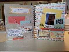 I used the Epic Day This & That Journal & products to document my trip to Salt Lake City for Stampin' Up!s yearly convention in July 2013. Find out more on my blog! http://justsquirrelingaround.blogspot.com