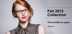 Tom Allen - Warby Parker Fall 2013