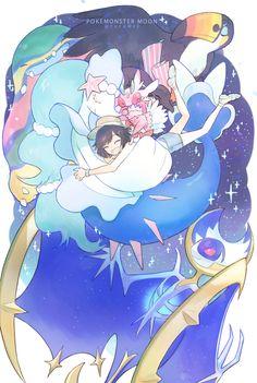 Melso, Pokémon Sun & Moon, Pokémon, Rotom, Female Protagonist (Pokémon Sun/Moon), Oricorio