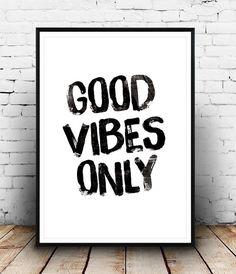 Quote print Motivational print Inspirational art by Wallzilla