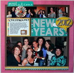 New Years - Scrapbook.com