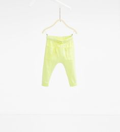 Neon trousers with pockets-Collection-BABY BOY | 3 months - 3 years-NEW IN | ZARA Hungary