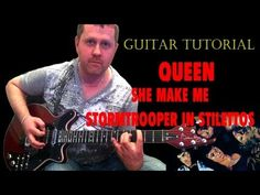 She Makes Me (Stormtrooper in Stilettos) - Queen - acoustic guitar tutorial - http://www.shoesgreat.com/hot-women-in-hot-shoes/she-makes-me-stormtrooper-in-stilettos-queen-acoustic-guitar-tutorial/