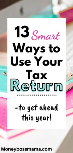 13 smart ways to use your tax refund to pay off debt and save money in Getting a lump sum of money allows you to get caught up on bills, which is beneficial if you are low on income. To avoid senseless spending, try these tips! Ways To Save Money, Money Tips, Money Saving Tips, Frugal Living Tips, Frugal Tips, Paying Off Student Loans, Tax Refund, Financial Tips, Financial Planning