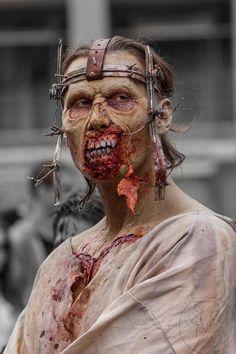 Fantastic zombie asylum patient