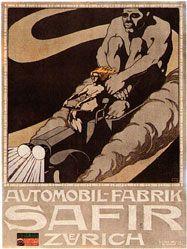 Mangold Burkhard - Automobil-Fabrik Safir