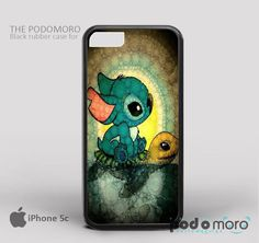 Disney Stitch Lilo AndTurtle for iPhone 4/4S, iPhone 5/5S, iPhone 5c, iPhone 6, iPhone 6 Plus, iPod 4, iPod 5, Samsung Galaxy S3, Galaxy S4, Galaxy S5, Galaxy S6, Samsung Galaxy Note 3, Galaxy Note 4, Phone Case