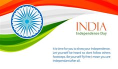 Indian Independence Day Greetings Quotes Wallpaper