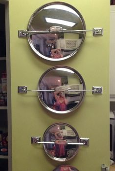 DIY Pot Lid Organizer | Your Projects@OBN Pot Lid Storage, Pot Lid Organization, Pan Storage, Lid Organizer, Kitchen Cabinet Organization, Storage Hacks, Kitchen Storage, Kitchen Cabinets, Kitchen Pantry
