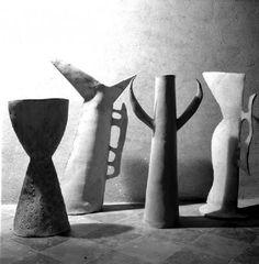 Fausto Melotti, vasi - vases