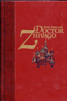 """Doctor Zhivago"" by Boris Pasternak. This book reads almost like poetry and tells one of the greatest stories ever told. I Love Books, Great Books, Books To Read, My Books, Dr Jivago, Beautiful Book Covers, Book Cover Art, Book Authors, Doctor Zhivago"