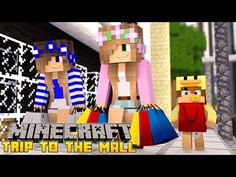 Minecraft - Little Kelly Adventures : SISTERS BRING BABY TO THE MALL! - YouTube