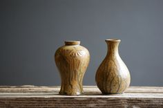 Mid Century Vases Modern Home Decor by susantique on Etsy, $32.00