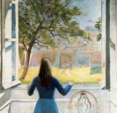 Muchacha en la ventana - Balthus (1908-2001)