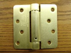 """4"""" x 4"""" Spring Hinges with 1/4"""" radius corners - Multiple Finishes Available - Sold in Pairs"""