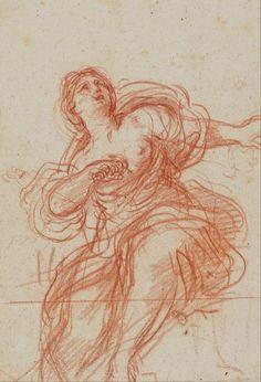 Guercino (Giovanni Francesco Barbieri) - Death of Lucretia - Google Art Project