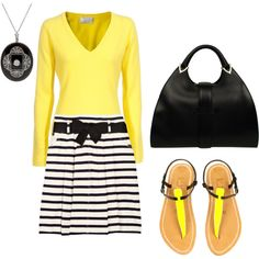 yellow and black.....Love it!