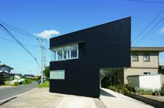 Casa con dos puntos de enfoque / Daigo Ishii + Future-scape Architects (Prefectura de Niigata, Japón) #architecture