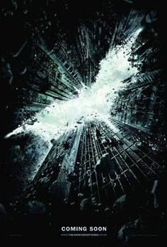Poster Batman The Dark Night Rises #JuevesDePelículas #MoviePosters